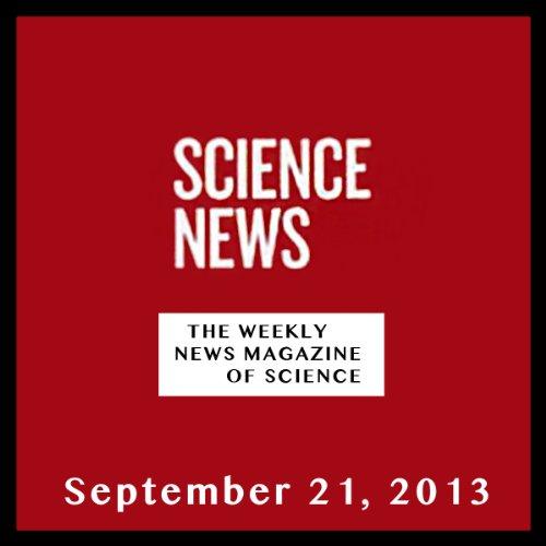 Science News, September 21, 2013 cover art