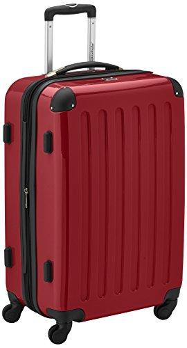 Hauptstadtkoffer Alex Trolley rígido con cierre TSA, 74 litros, 65 x 41 x 26 cm, Rojo