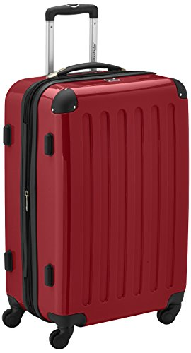 HAUPTSTADTKOFFER - Alex - Valise à coque dure Rouge , TSA, 65 cm, 74 litres