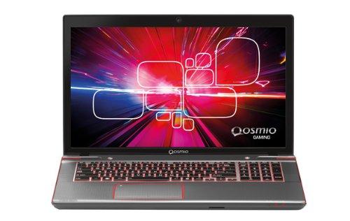 Toshiba Qosmio X870-140 43,9 cm (17,3 Zoll) Laptop (Intel Core i7 3630QM, 2,4GHz, 8GB RAM, 1TB HDD, NVIDIA GTX 670M, Blu-ray, Win 8) grau