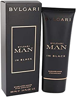 Bvlgãrí Man In Black by Bvlgãrí for Men After Shave Balm 3.4 oz