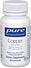 Overall Health: Copper is a trace mineral that supports a number of crucial physiological processes.* Iron Absorption: Copper assists in the formation of hemoglobin and red blood cells by facilitating iron absorption.* Energy Metabolism Support: Copp...