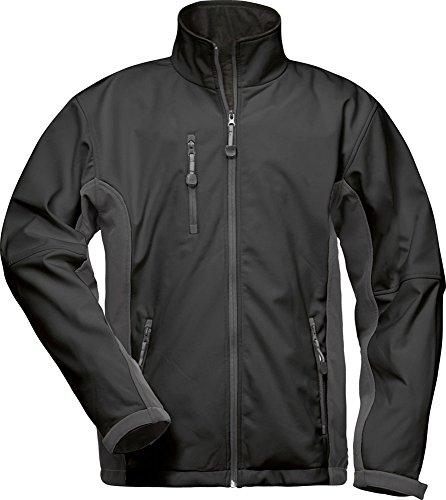CRAFTLAND Softshell-Jacke - 19990 - schwarz/grau - Größe: 4XL