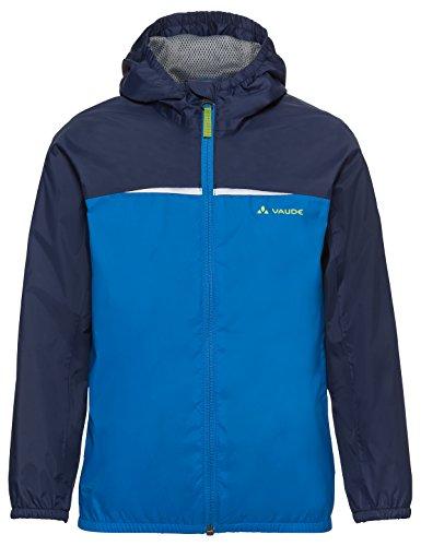 VAUDE Kinder Jacke Turaco Jacket, radiate blue, 122/128, 409729461280