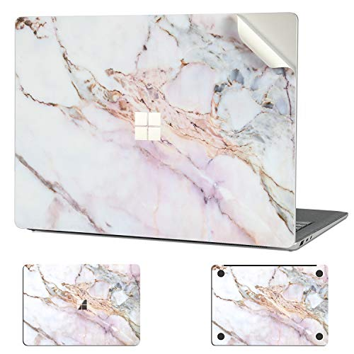Digi-Tatoo Surface Skin Decal for Microsoft Surface Laptop Go, Easy Apply, Full Body, Protective & Decorative Vinyl Skin Wrap Sticker [Cracked Marble]