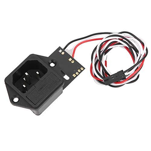 Reanudar bricolaje Botón basculante Interruptor basculante Botón de plástico para impresora Prusa i3 MK3