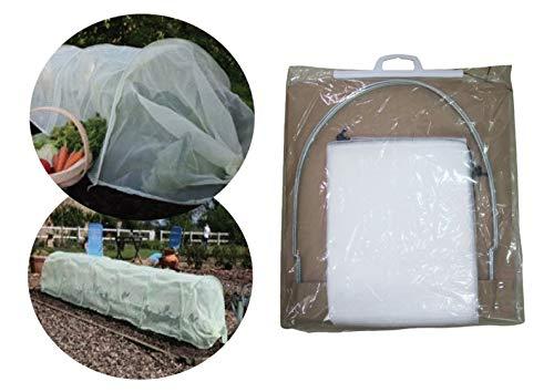 Garden Pleasure Pflanztunnel Vlies Pflanzenschutzvlies Pflanzenschutztunnel (2 Stück)