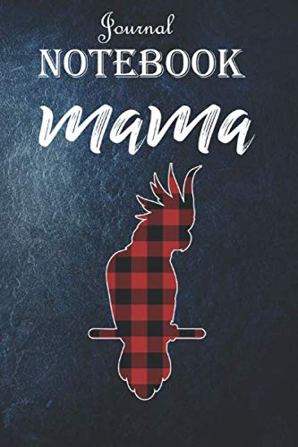 Notebook Journal: Womens Mama Moluccan Cockatoo Bird Plaid: Unique Appreciation Gift with Beautiful Design and a Premium Matte Softcover Gift Ideas for Your Son