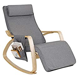 High Weight Capacity Interior Rocking Chair