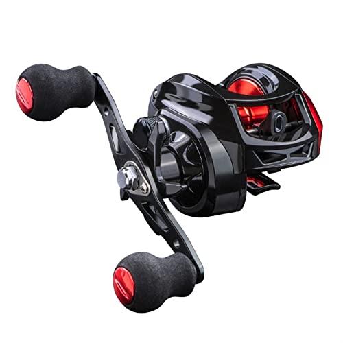 KSHOLK Carretes de Pesca,Carrete Spinning Reel 7.2: 1 Alta Velocidad 8kg MAX Drag Tolle de Pesca for Bass en Ocean Entorno Carrete de Pesca Carrete de caña de Pescar