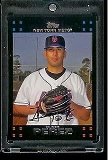 2007 Topps Oliver Perez New York Mets #355 MLB Baseball Trading Card
