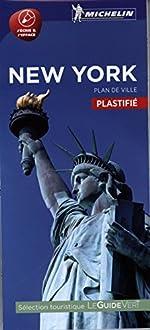 Plan New York Plastifié Michelin de Michelin