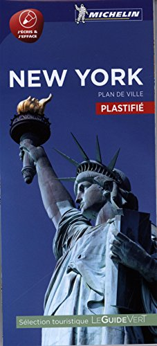 Plan New York Plastifié Michelin