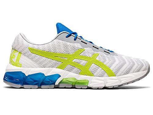 ASICS Men's Gel-Quantum 180 5 Shoes, 12M, Piedmont Grey/Lime Zest