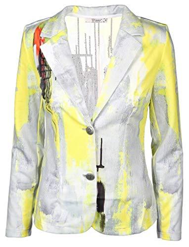 Missy Damen Blazer Größe S Gelb (gelb)
