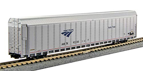 N Scale Autorack Auto Carrier 4 Car Amtrak Phase V Set #4
