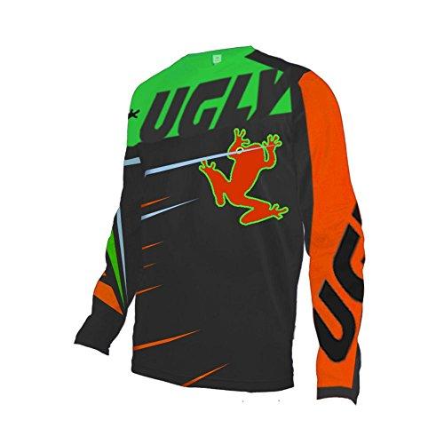Preisvergleich Produktbild Uglyfrog Element Racewear Motocross Herren Downhill Jersey Trikot MX Enduro Offroad Motorrad Youth / Erwachsener Wear