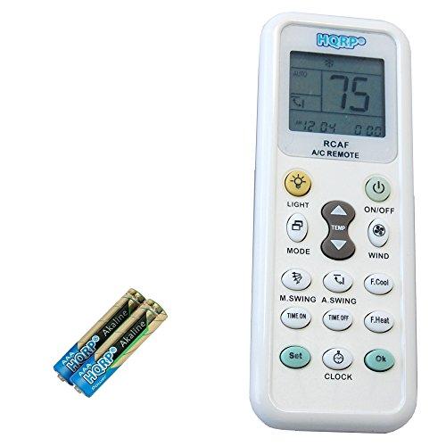 HQRP Universal Remote Control Compatible with Whirlpool 6711A20103P ACQ052PK ACQ058PL ACQ062PK ACQ62PK Air Conditioner