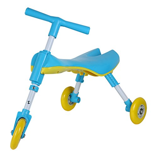 Medog Fly Bike Scooter Bug Foldable Toddlers Glide Ride On Toy