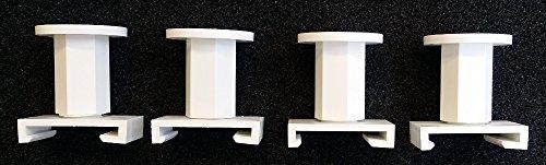 4x Kermi Abstandshalter für Heizkörper je 25-40mm verstellbar