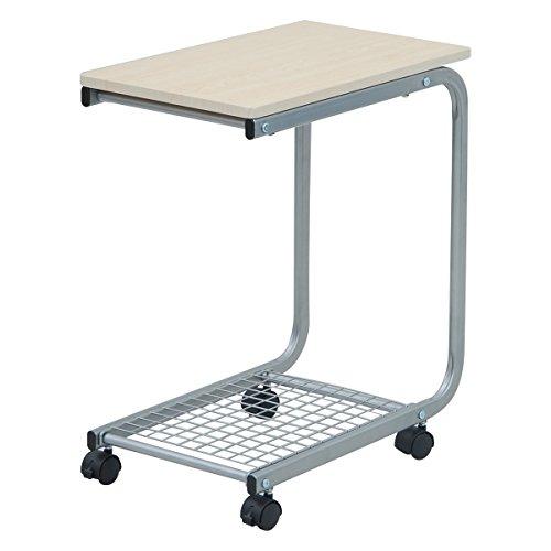 山善 (YAMAZEN) ベッドサイドテーブル ナチュラルメイプル B001RNP7U2 1枚目