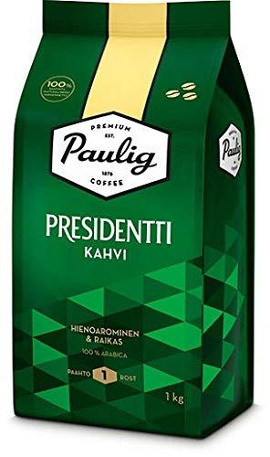 Paulig Presidentti bean Kaffee 4 Pack of 1kg