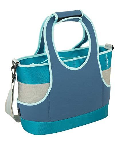 Campingaz Strand Kühltasche Sand 19L, Isoliertasche mit Schulterriemen, kühlt bis zu 19 Std, faltbare Isotasche zum Einkaufen, Camping oder als Picknicktasche