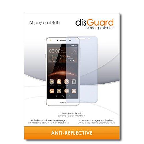 Displayschutzfolie [Anti-Reflex] kompatibel mit Huawei Y5 II [2 Stück] Entspiegelnd, Matt, Antireflektierend, Extrem Kratzfest, Anti-Fingerabdruck - Panzerglas Folie, Schutzfolie