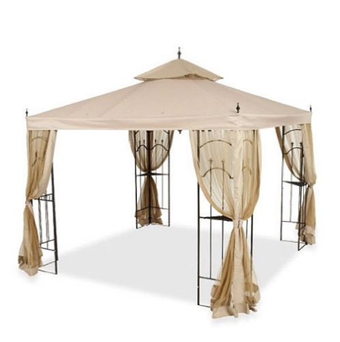 Cheap Gazebo Cheap Replacement Canopy And Netting Set For Home Depot 39 S Arrow Gazebo