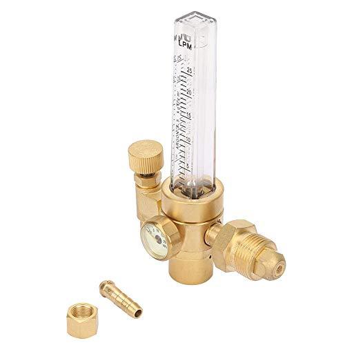 Medidor de flujo de CO2, medidor de alivio de presión, regulador, salida de entrada de soldador para Hobart para Lincoln para Miller