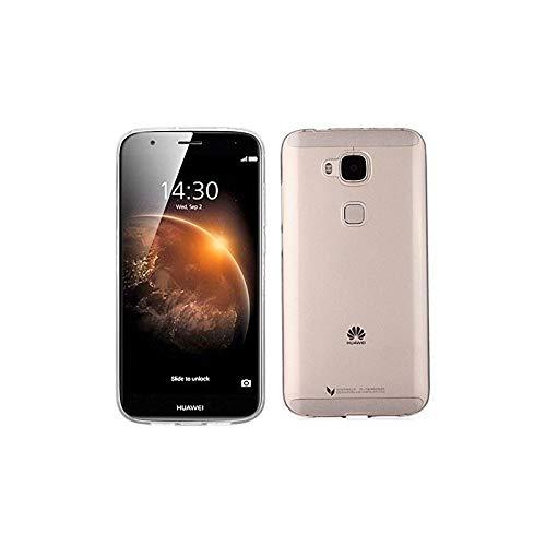 Takeon Cover Trasparente Custodia Silicone Gel Sottile Leggera Ultra Slim 0,3mm - Cover Trasparente G8 Huawei