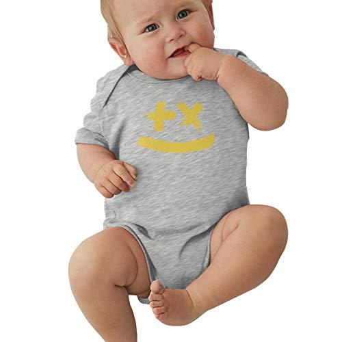 Queen Elena Combinaison Mixte pour bébé garçon Fille Martin Garrix Enfant Kawaii 0-2T - Gris - 2 Ans