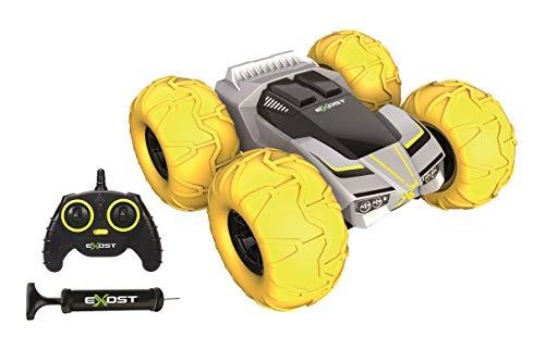 EXOST RC 20266 360 TORNADO by Silverlit, zdalnie sterowane auto, opony odporne na uderzenia z obu stron, pokonuje przeszkody przy 360°, samochody zabawkowe, skala 1:10, kolorowe, od 5 lat