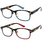 Yogo Vision Blue Light Blocking Glasses for Women and Men 2 Pack