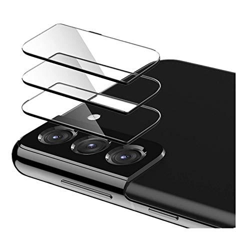 Kompatibel mit Samsung Galaxy S21 5G / S21 Plus 5G / S21 Ultra 5G Kamera Schutzfolie [3 Stück] Schutzfolie Anti-Kratzer Glatte Film Blasenfreie Kameraobjektiv Hartglasschutz (B:S21 Plus)