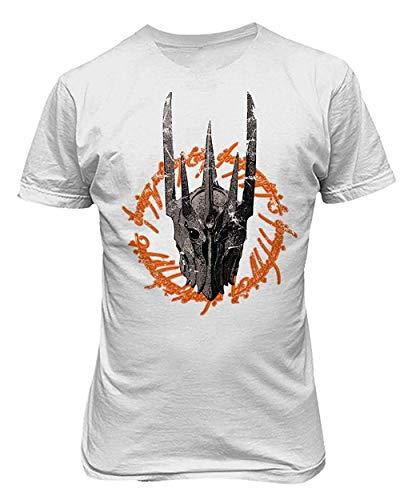 Funny T-shirt Herren Dark Horror Sauron Maske Fashion Print Graphic Neuheit T-Shirt