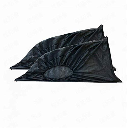 2 piezas de parasol de ventana de coche, parasol de ventana trasera delantera,protección contra el polvo de mosquitos, protector UV, protección de privacidad para niños, bebés y adultos