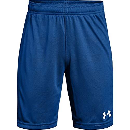 Under Armour Boys' Golazo 2.0 Soccer Shorts , Royal Blue (400)/White , Youth Medium