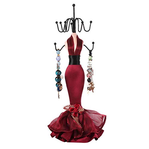 Expositor para joyas, soporte para joyas, resina, artesanía, collar, pendientes, pulsera [03]