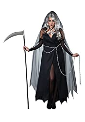 Plus Size Scary Reaper Costume For Ladies