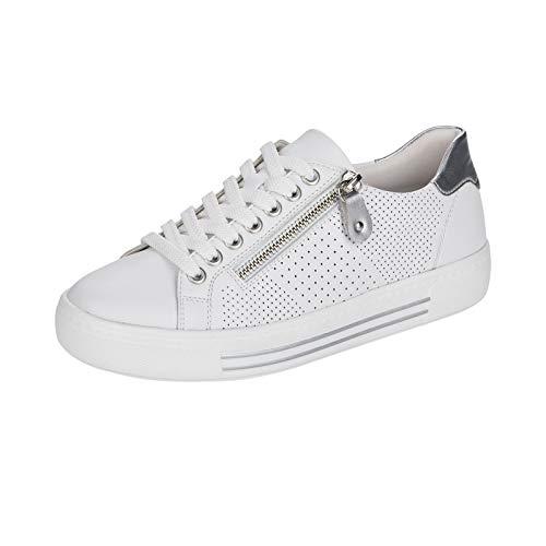 Remonte Mujer Zapatos Bajos D0911, señora Bajo,Plantilla Desmontable