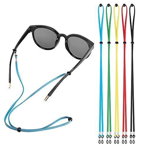Eyeglasses Holder Straps Cord, AugLifers Sunglasses Strap Adjustment for Men Women, Sports Eyewear...