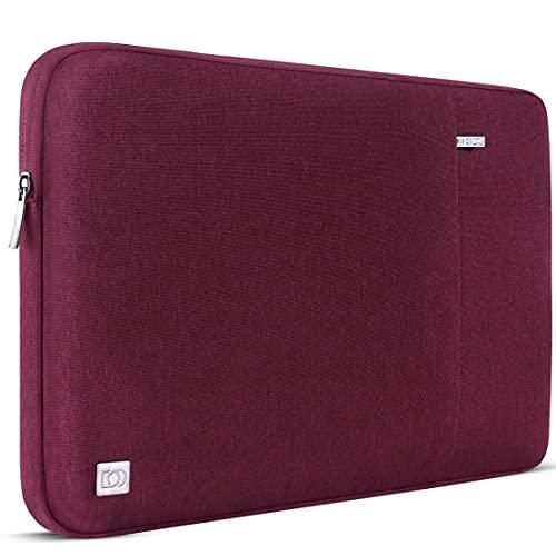 DOMISO Funda de 10,1 pulgadas para ordenador portátil, PC, funda protectora para tablet de 9,7' 10,5' 11' iPad PRO/iPad Air/Microsoft Surface Go/Samsung Galaxy Tab S4/Lenovo Ideapad D330, vino rojo