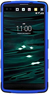 MyBat Cell Phone Case for LG H901 - Retail Packaging - Black/Blue