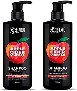 Beardo pack of 2 Apple Cidar Vinegar Shampoo for Men-300ml x 2