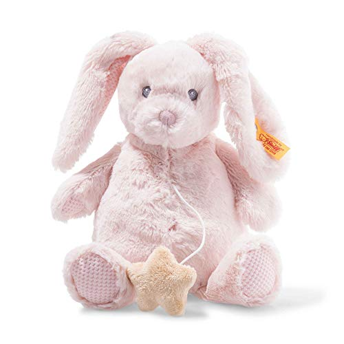 Steiff 241772 Belly Hase Spieluhr 26, rosa