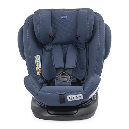 Chicco Unico Plus - Silla de coche reclinable para bebés de 0 - 36 kg, color azul (india ink)