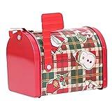 EWRT - Caja de almacenamiento para galletas de Navidad
