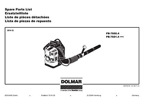 Dolmar 377350110-5927 Dichtung, Original Ersatzteil PB-7600.4