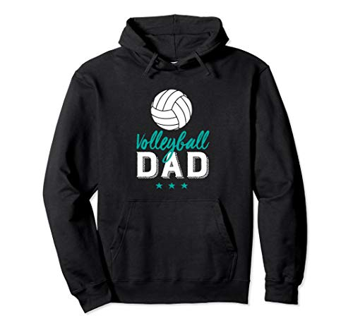 Volleyball Dad Hoodie Proud Father and Sports Parents